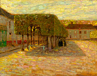 Henri Le Sidaner: Trimed Trees