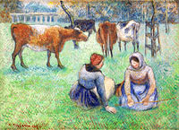 Peasant Women Looking for the Cows