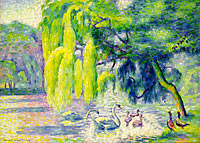 Henri-Edmond Cross: Swans Family