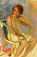 Young Woman Seated