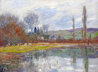 Клод Моне: The Spring at Vetheuil