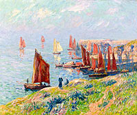 Henry Moret: Returning of the Boats