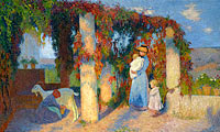 Henri Martin: The Arbour at Marquayrol