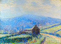 Gustave Loiseau: The Frost at Huelgoat, Finistere