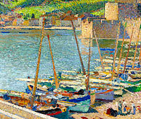 Fishing Boats on the Shore at Collioure
