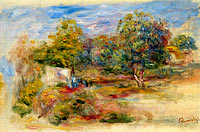 Landscape with House (etude)