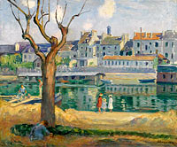 Henri Lebasque: View to the Quay of Pamponne