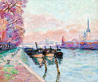 Jean-Baptiste-Armand Guillaumin: The Seine at Rouen (2)