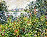 Клод Моне: Flowers at Vetheuil