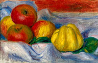 Still Life with Apples and Quince