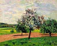 Jean-Baptiste-Armand Guillaumin: Apple Trees Blooming, Ile-de-France