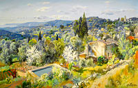 Alexandre-Gabriel Decamps: Panorama of Eze