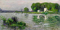 Гюстав Луазо: The Banks of the Seine, Triel