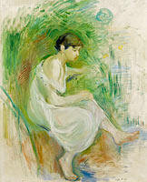 The Bather in Chemise
