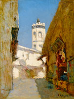 The Street of Blondeurs at Alger