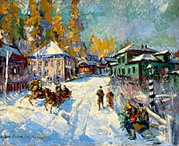 Konstantin Korovin: Russian Winter