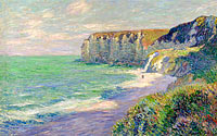 Gustave Loiseau: The Cliffs of Saint-Jouin (2)