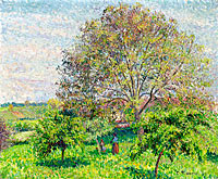 Great Nut-Tree in Spring, Eragny
