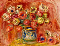 Pierre-Auguste Renoir: Bouquet of Flowers