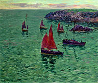 The Sea with Pinnaces