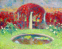 Henri Martin: The Pool and the Arbour