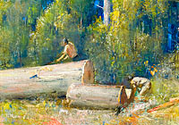 Tom Roberts: The Wood Splitters