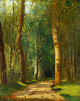 The Alley in the Forest