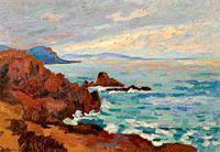 Jean-Baptiste-Armand Guillaumin: The West, Trayas-Agay