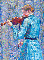 Тео ван Рейссельберг: Woman Playing Violin