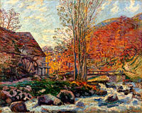 Jean-Baptiste-Armand Guillaumin: The Watermill