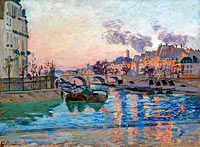 Jean-Baptiste-Armand Guillaumin: Paris, the Bridge of Marie
