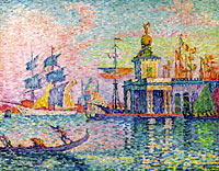 Paul Signac: Venice, Custom-House