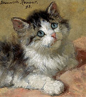 Henriëtte Ronner-Knip: An Inquisitive Kitten
