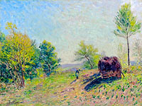 Alfred Sisley: Going to the Forest in Spring