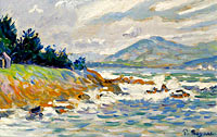 Paul Signac: Saint-Tropez, the Gust of Eastern Wind