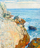 Frederick Childe Hassam: The East Headland, Appledore - Isles of Shoals