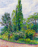 Camille Pissarro: The Garden of Octave Mirbeau at Damps (Eure)