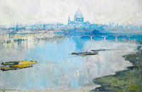 Arthur Streeton: St. Paul's and the River