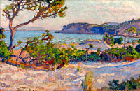 Théo van Rysselberghe: The Dunes at La Faviere