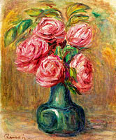 Pierre-Auguste Renoir: Vase of Flowers