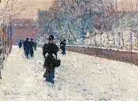The Promenade, Winter in New York