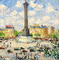 Gustave Loiseau: The Square of Bastille