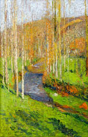 Henri Martin: Green in the Lower Reaches of Labastide-du-Vert