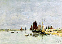 Etaples, Boats at the Port
