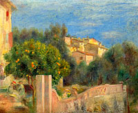 The Artist's House in Cagnes