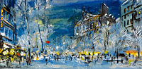 Konstantin Korovin: Paris in Winter