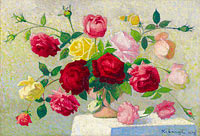 Achille Lauge: Bouquet of Roses (3)