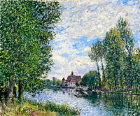 Alfred Sisley: The Summer in Moret