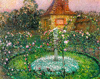 Henri Le Sidaner: The Pavillion, Gerberoy