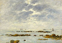 Seascape at St. Vaast - La Hougue
